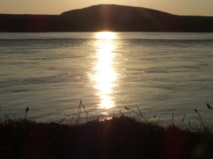 Ramsey Island sunset