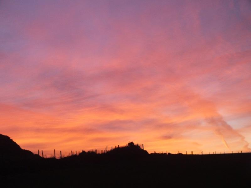 February Sunset St Davids Pembrokeshire Wales