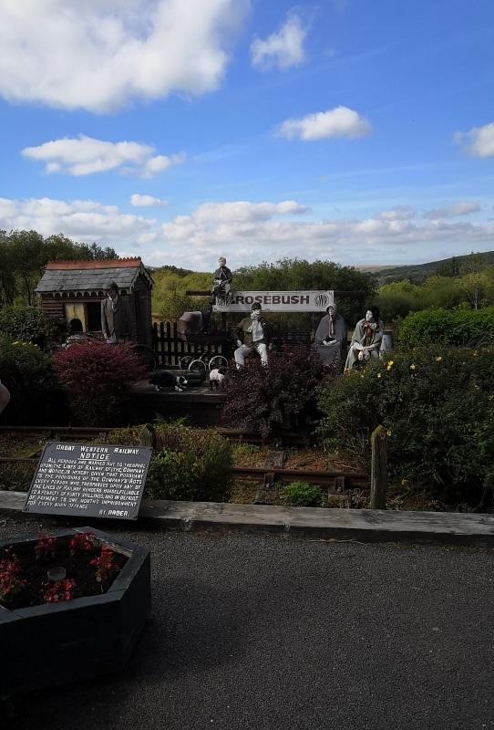 Tafarn Sinc pub at Rosebush Pembrokeshire