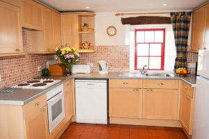Farmhouse Kitchen, Ty Mortimer, Treginnis Holiday cottages, St Davids