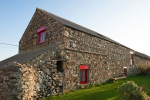 Back view of Ty Mortimer, Treginnis Cottages, St Davids Pembrokeshire